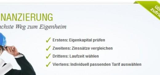 Baufinanzierung Check24